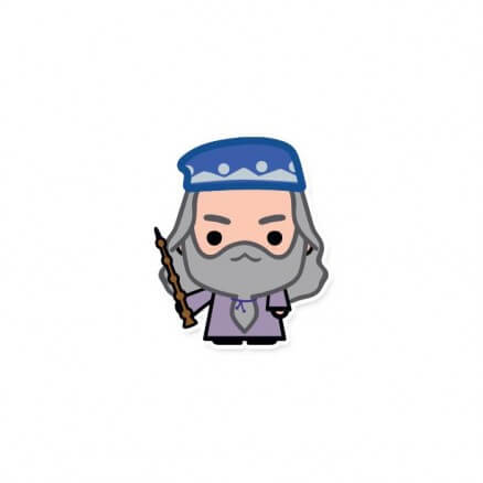 Albus Dumbledore - Official Harry Potter Sticker