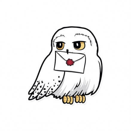 Hedwig - Harry Potter Official Sticker
