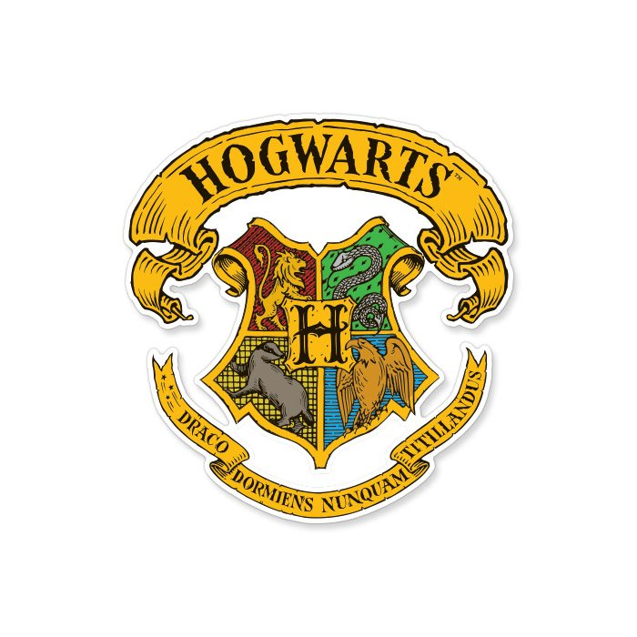 Hogwarts Crest - Harry Potter Official Sticker