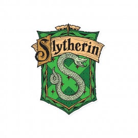 Slytherin Crest - Harry Potter Official Sticker