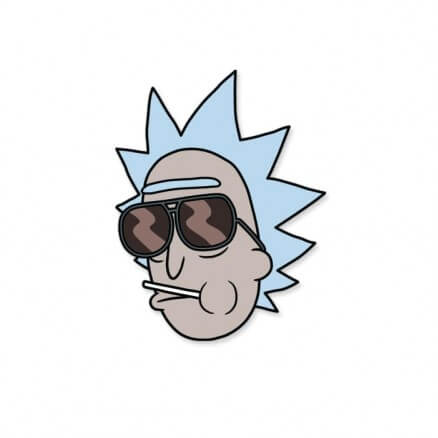 Heist Con Champ - Rick And Morty Official Sticker