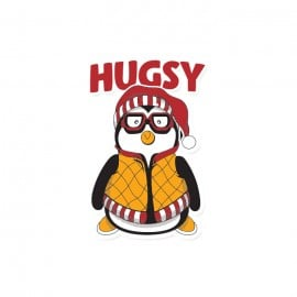 Hugsy - Friends Official Sticker