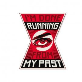 I'm Done Running From My Past - Marvel Official Sticker