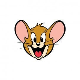 Jerry Face - Tom And Jerry Official Sticker