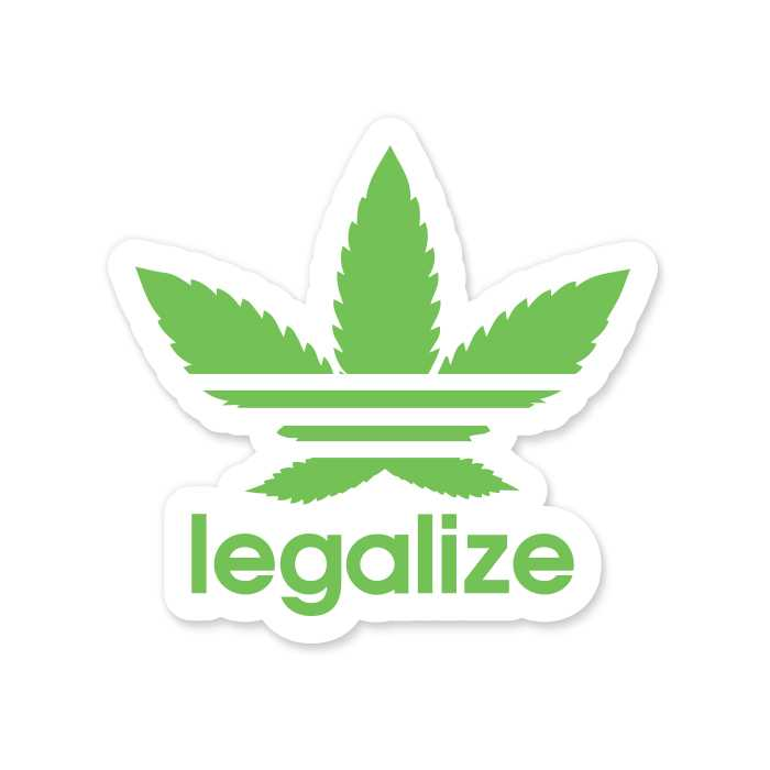 Legalize - Sticker