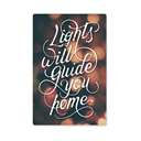 Lights Will Guide You Home - Sticker