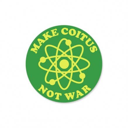 Make Coitus - The Big Bang Theory Official Sticker