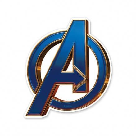 Avengers Logo - Marvel Official Sticker