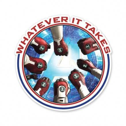 Whatever It Takes - Marvel Official Sticker