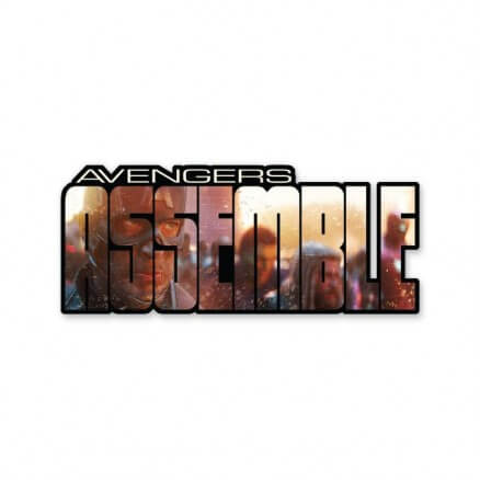 Avengers Assemble - Marvel Official Sticker