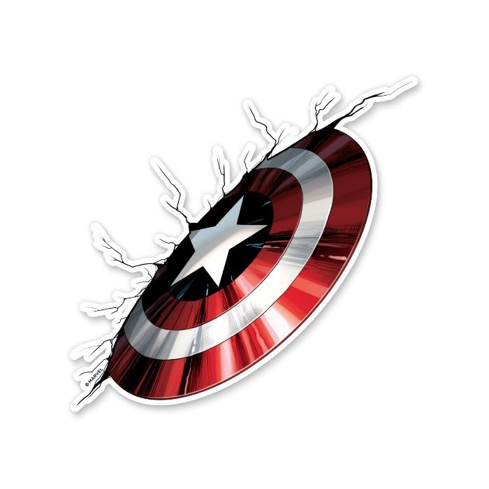 The Super Soldier - Marvel Official Sticker