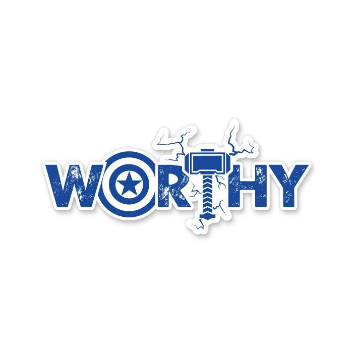 Worthy - Marvel Official Sticker