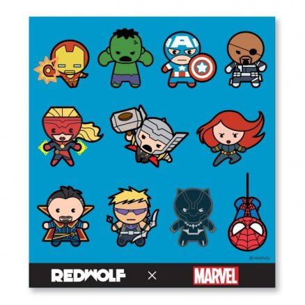 Marvel: Chibi - Marvel Official Sticker Sheet