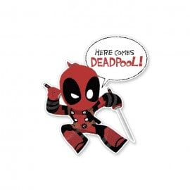 Here Comes Deadpool - Deadpool Official Sticker