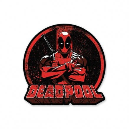 Deadpool: Logo - Deadpool Official Sticker
