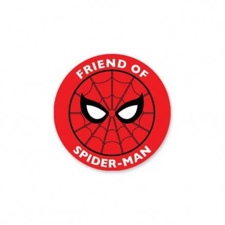 Friend Of Spider-Man - Marvel Official Sticker