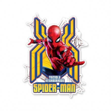 Friendly Neighborhood Spiderman - Marvel Official Sticker