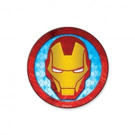 Iron Man Mask - Marvel Official Sticker