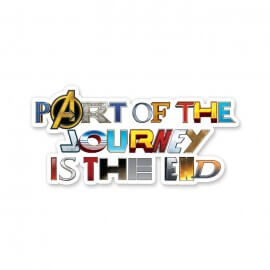 The Final Journey - Marvel Official Sticker