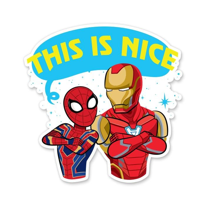 This Is Nice - Marvel Official Sticker