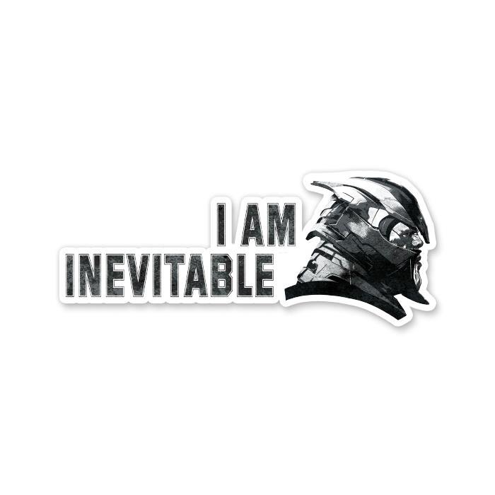 I Am Inevitable - Marvel Official Sticker