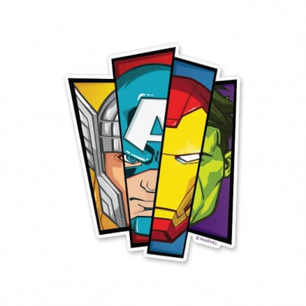 The First Avengers - Marvel Official Sticker