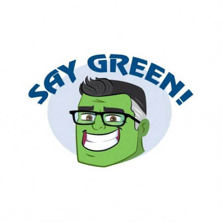Say Green - Marvel Official Sticker