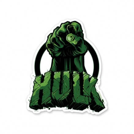 The Hulk - Marvel Official Sticker