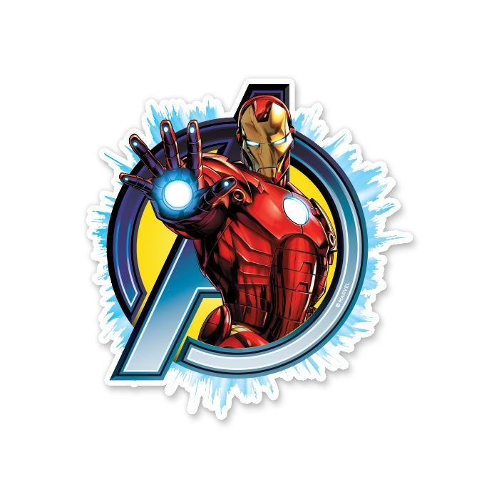 The Invincible Iron Man - Marvel Official Sticker