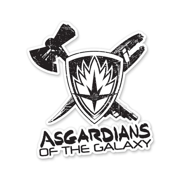 Asgardians Of The Galaxy - Marvel Official Sticker
