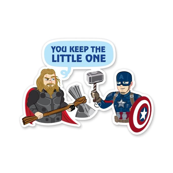 Take The Little One - Marvel Official Sticker