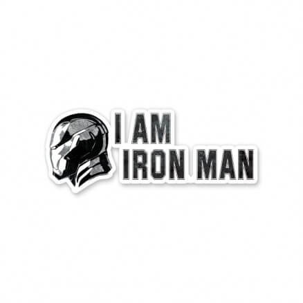 Tony Stark: I Am Iron Man - Marvel Official Sticker