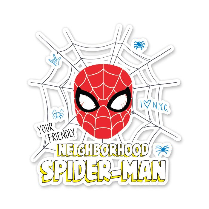 Your Friendly Neighborhood Hero - Marvel Official Sticker