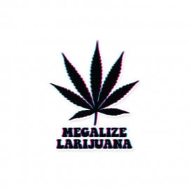Megalize Lariuana - Sticker