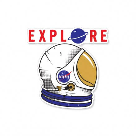 Explore - NASA Official Sticker