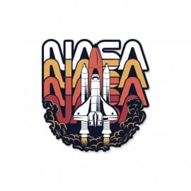 Lift Off - NASA Official Sticker