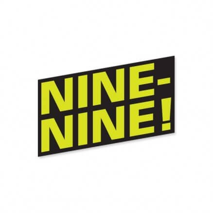 Nine-Nine - Sticker