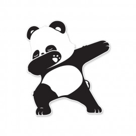 Panda Dab - Sticker