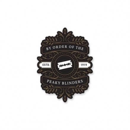 Peaky Blinders: By Order - Sticker