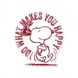 Do What Makes You Happy - Peanuts Official Sticker