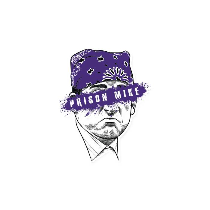 Prison Mike - Sticker