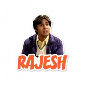Rajesh - The Big Bang Theory Official Sticker