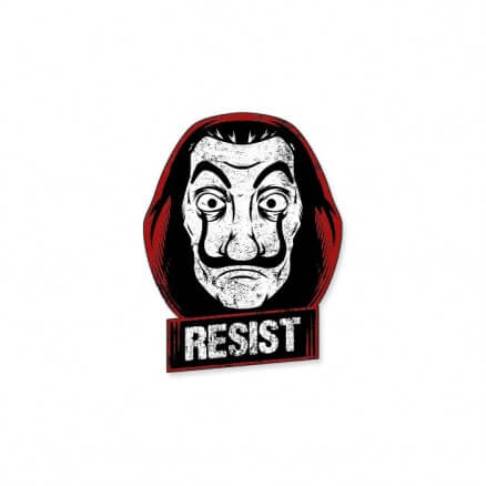 Resist - Sticker