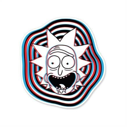 Glitch - Rick And Morty Official Sticker