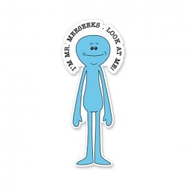I'm Mr. Meeseeks - Rick And Morty Official Sticker