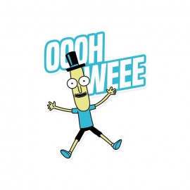 Mr. Poopybutthole: Oooh Weee - Rick And Morty Official Sticker