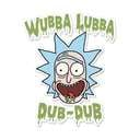 Wubba Lubba Dub Dub - Rick And Morty Official Sticker