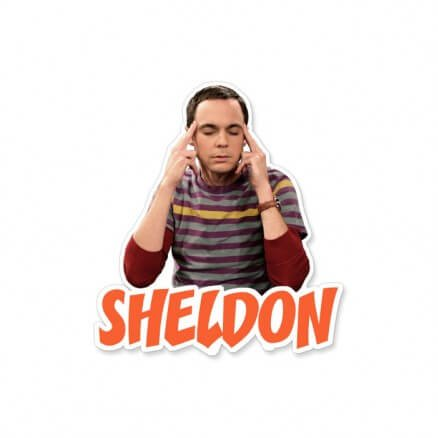 Sheldon - The Big Bang Theory Official Sticker