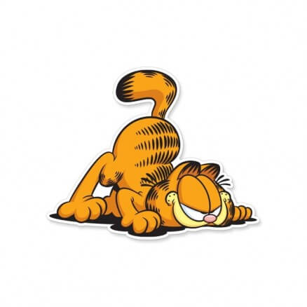 Sneaky Cat - Garfield Official Sticker