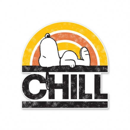Snoopy: Chill - Peanuts Official Sticker